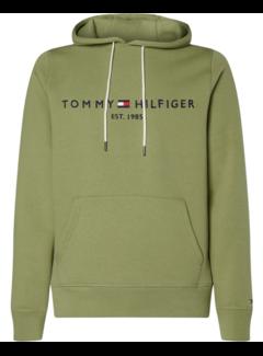 Tommy Hilfiger Hooded Sweater Logo Groen (MW0MW11599 - L9F)