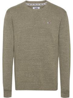 Tommy Hilfiger Pullover Essential Textured Groen (DM0DM06999 - L8Q)
