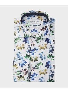 Michaelis Overhemd Slim Fit Flower Print (PMRH300001)N
