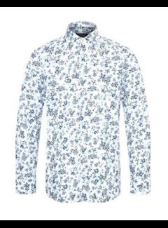 Matinique Overhemd MAmarc N Bloemen Storm Blue (30205141 - 174421)