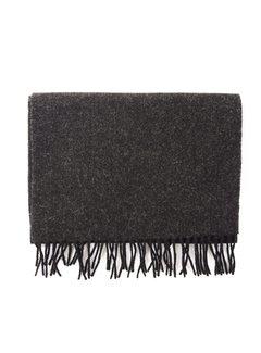 Tresanti Sjaal Virgin Wool Antraciet/Zwart (TRSC0036-1-152)