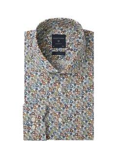 Profuomo Overhemd Slim Fit Flowerprint (PPRH3A1011)N
