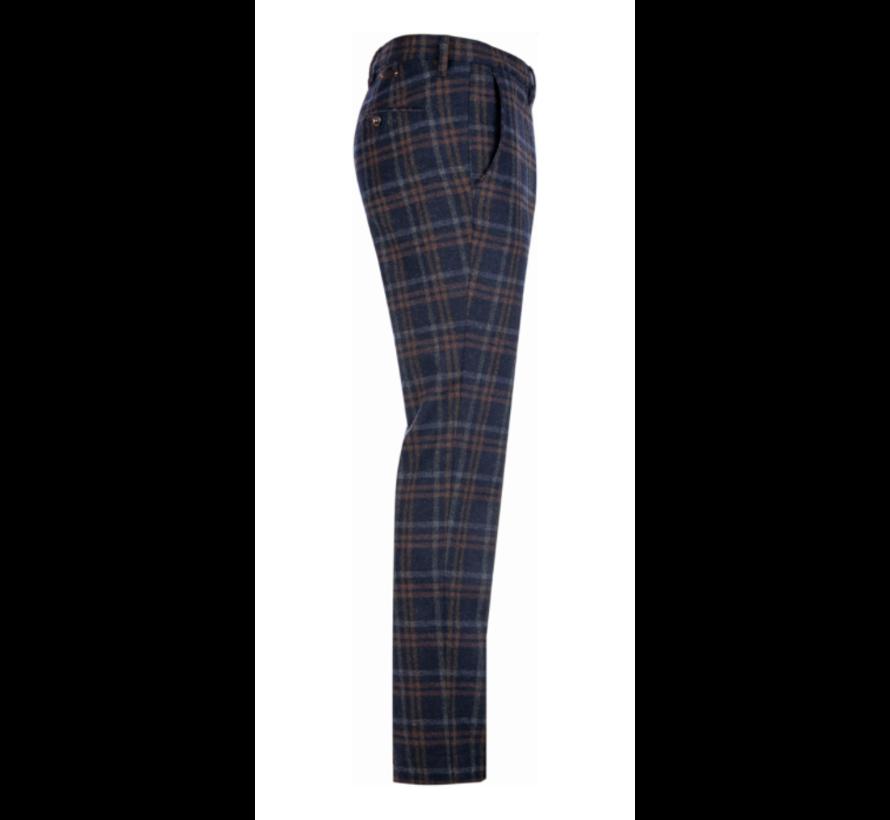 Chino Rob Slim Fit Smart Wool Check Multicolor (6286 1257 - 085)N