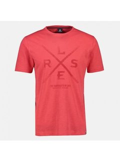 Lerros T-shirt Logo Hot Red (20D3023 - 333)