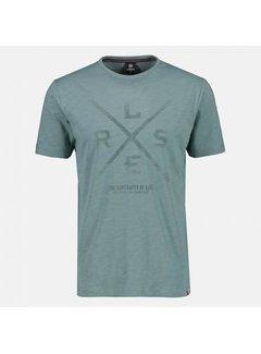 Lerros T-shirt Logo Dusty Mint (20D3023 - 467)