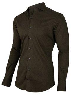 Cavallaro Napoli Overhemd Venerdi Jersey Groen (110205045 - 599000)