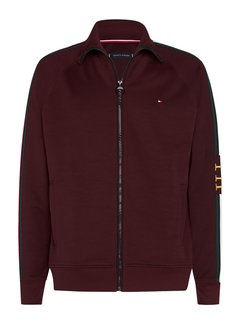 Tommy Hilfiger Vest Monogram Bordeaux Rood (MW0MW15253 - XIH)