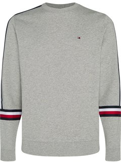 Tommy Hilfiger Sweater Tape Grijs (MW0MW15575 - PG5)