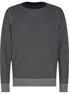 Tommy Hilfiger Sweater Two Tone Structure Navy (MW0MW15454 - DW5)