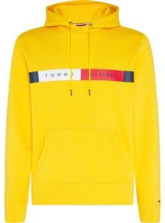 Tommy Hilfiger Hooded Sweater Logo Geel (MW0MW15235 - ZEW)