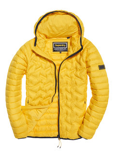Superdry Tussenjas Down Radar Mix Quilt Jacket Geel (M50003DR - UL7)