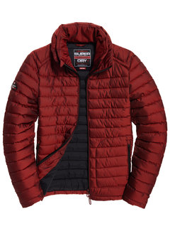 Superdry Tussenjas Double Zip Fuji Rood (M5000022A - 60I)
