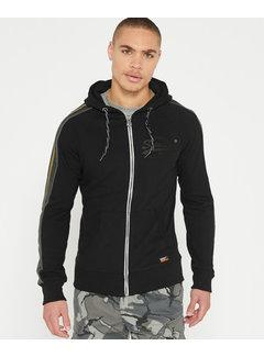 Superdry Vest Hooded Sweat Vintage Logo 1St Zwart (M20251AT - 02A)