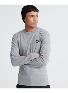 Superdry Longsleeve T-shirt Organic Cotton Collective Grijs (M6010041A - 9SS)