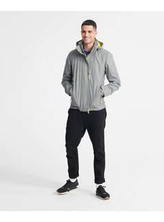 Superdry Tussenjas Tech Hood Pop Zip SD-Windcheater Grijs (M5010209A - QOG)