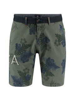 New Zealand Auckland Short Chino Abel Spring Army Groen (19CN631 - 486)