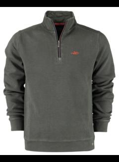 New Zealand Auckland Half-Zip Sweater Mangawhai Green (20KN307 - 499)