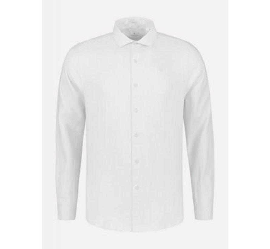 Overhemd Regular Fit Wit (303300 - 100)