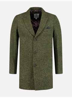 Dstrezzed Wollen Coat Groen (101248 - 511)