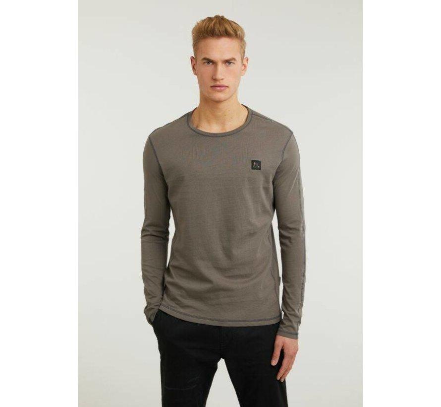 T-shirt Long Sleeve ALPA Donker Grijs (5111.213.038 - E83)