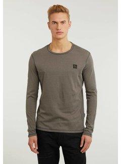 CHASIN' T-shirt Long Sleeve ALPA Donker Grijs (5111.213.038 - E83)