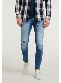 CHASIN' Jeans Ego Nolan Slim Fit Mid Blue (1111.326.046 - D22)