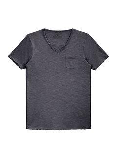 Dstrezzed Dstrezzed T-shirt V-hals Antraciet (202386 - 997)