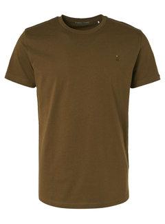 No Excess T-shirt Ronde Hals Moss Groen (97340701 - 152)
