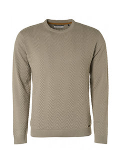 No Excess Pullover Organic Stone Grijs (97230854 - 014)