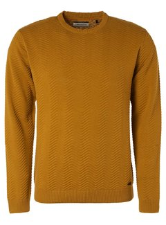 No Excess Pullover Organic Gold Geel (97230854 - 073)