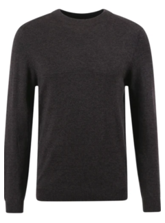 No Excess Pullover Donker Grijs (97230882 - 023)