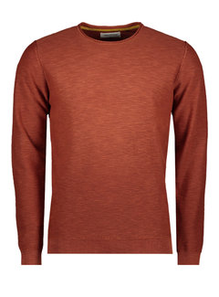 No Excess Pullover Stone Washed Rusty Bruin (97230801SN - 092)
