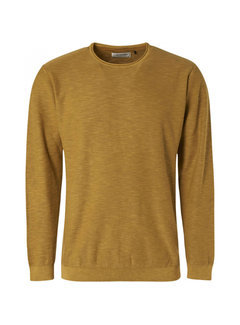 No Excess Pullover Stone Washed Gold Geel (97230801SN - 073)