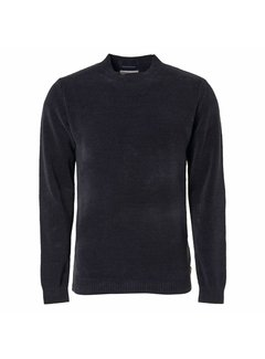 No Excess Pullover Chenile Night Blauw (97210923 - 078)