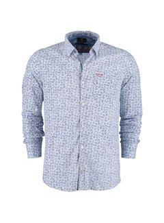 New Zealand Auckland Overhemd Hamilton Blauw (20KN563 - 370)