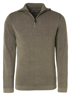 No Excess Half-Zip Sweater Stone (97230811SN - 014)