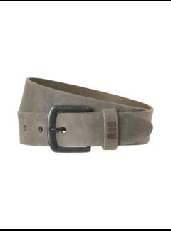 No Excess Riem Leather Buckle Dark Grey (97BLT08 - 023)