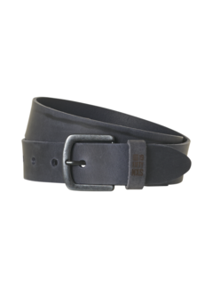 No Excess Riem Leather Buckle Shadow Blue (97BLT08 - 132)