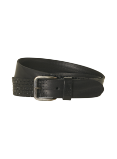 No Excess Riem Leather Buckle Black (97BLT52 - 020)