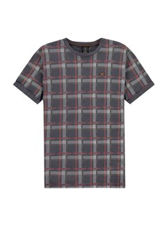 Kultivate T-shirt TS Faded Plaid (2001030215 - 333)