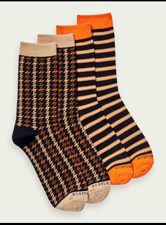 Scotch & Soda 2Pack Sokken Multicolor (158653 - 0217)