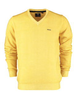 New Zealand Auckland Pullover V-hals Waingaromia Corn Yellow (20HN441 - 666)