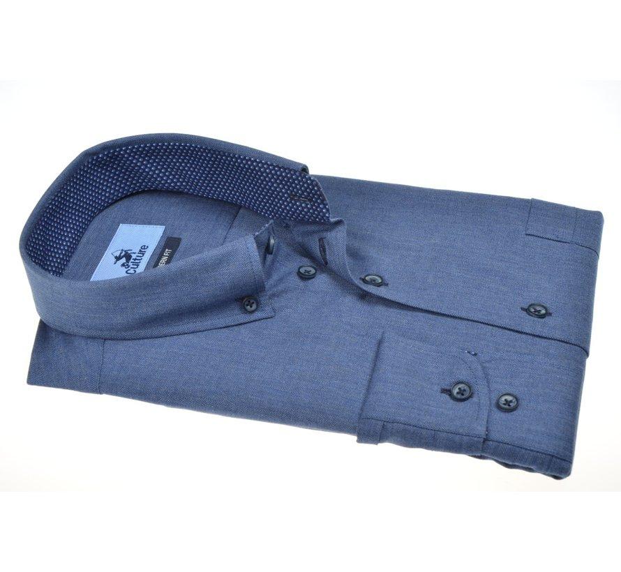 Overhemd Modern Fit Blauw (514001 - 36)
