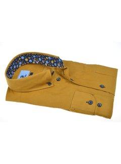 Culture Overhemd Modern Fit Rib Oker Geel (514002 - 66)
