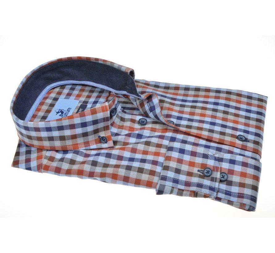 Overhemd Modern Fit Ruit Multicolor (514005 - 33)