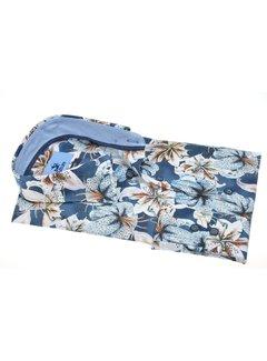 Culture Overhemd Modern Fit Print Bloemen Blauw (514035 - 38)