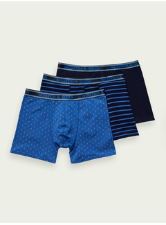 Scotch & Soda Boxershorts 3Pack Multicolor (157596 - 0217)