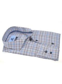 Culture Overhemd Modern Fit Ruit Lichtblauw (514153 - 15)