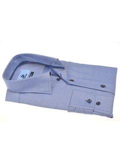 Culture Overhemd Modern Fit Print Blauw (514155 - 37)