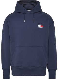 Tommy Hilfiger Hooded Sweater Navy Blauw (DM0DM06593 - C87)